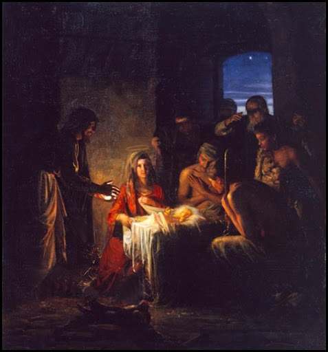 The Holy Night by Carl Heinrich Bloch