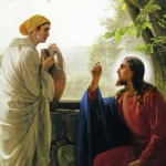 Jesus and the Samaritan Woman by Carl Heinrich Bloch