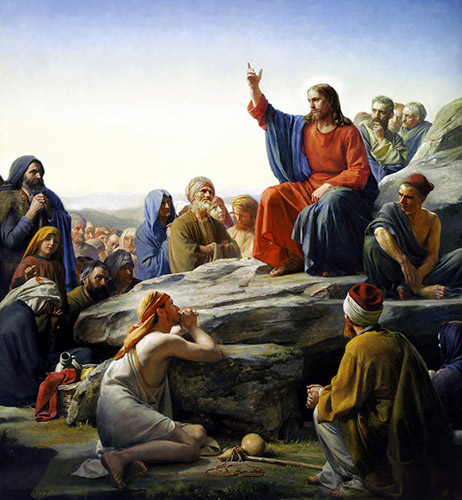 Sermon on the Mount by Carl Heinrich Bloch