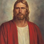 Christ in the Red Robe by Del Parson