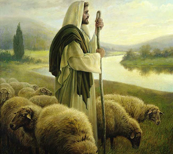 The Good Shepherd by Greg Olson
