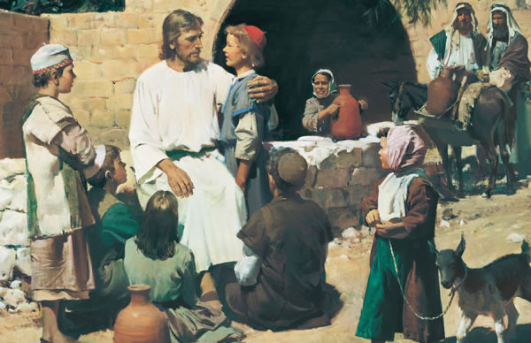 Christ with the Children by Harry Anderson