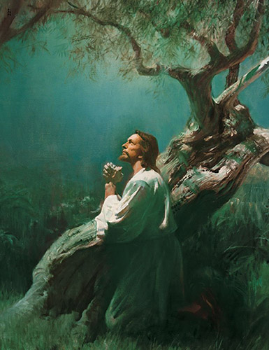 Christ in Gethsemane by Harry Anderson