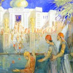 The House of the World by Minerva Teichert