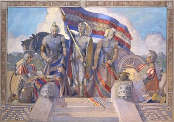 Title of Liberty by Minerva Teichert